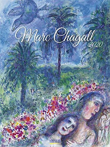 Marc Chagall 2020: Großer Kunstkalender. Edler Wandkalender mit Werken des Künstlers. Kunst Gallery Format: 48x64 cm