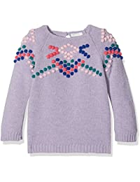United Colors of Benetton Sweater L/S, Felpa Bimba
