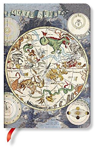 Paperblanks - Frühe Kartografie Himmlische Karte - Notizbuch Midi Liniert
