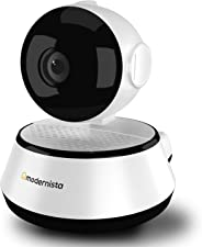 Modernista EasyCam 100-1.0 MP Wireless Indoor Security Camera with IR Night Vision | 128GB Memory Card Support | in app Contr