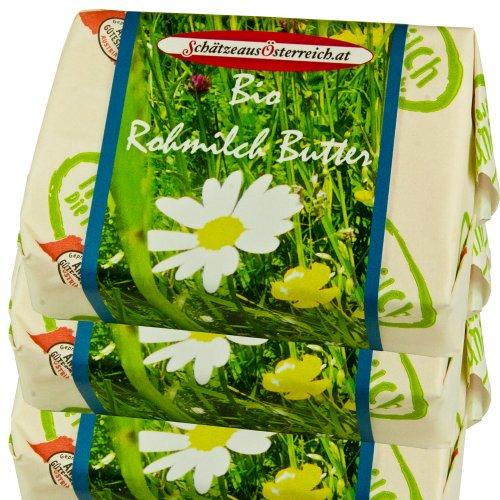 Bio Rohmilchbutter 1 kg Probierpaket