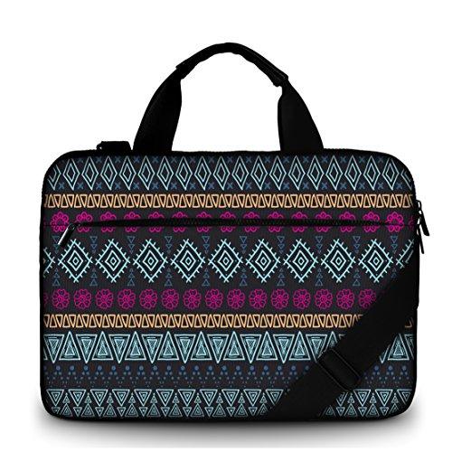 MySleeveDesign Canvas Laptoptasche Notebooktasche Umhängetasche 15