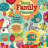 2019 Busy Family 18-Month Wall Calendar/Planner: By Sellers Publishing