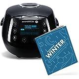 Reishunger Digitale rijstkoker (1.5l/860W/220V) Multi-cooker met 12 programma's, 7-fase technologie, premium binnenpot, timer