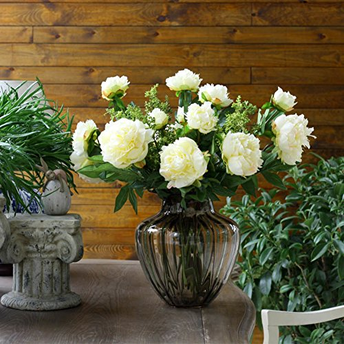Thread Water Culture Flower Device/clear Glass Vase/ Parlor Ornaments-a