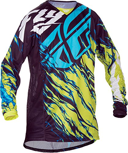 Fly Racing Jersey Kinetic Relapse Grün Gr. L