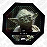 Rewe STAR WARS Cosmic Shells Normal 15 Glitzer Yoda + WIZUALS STICKER