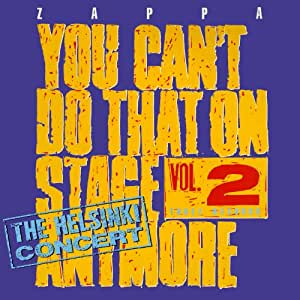 You Can'T Do That On Stage Anymore /Vol.2