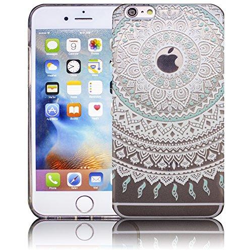 Apple iPhone 6 Plus / iPhone 6S Plus - Design 11 Silikon Crystal Kristall clear transparent durchsichtig Schutz-Hülle Hülle weiche Tasche Cover Case Bumper Etui Flip smartphone handy backcover Schutzh Design 4