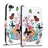 Verco Handyhülle Xperia Z5 Compact Muster, Motiv Hülle Sony Xperia Z5 Compact Book Case Flip Cover - Design 8