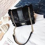 Burberry Paket Allgleiches Umhängetasche Diagonal Kreuz Kleine Quadratische Tasche Handtaschen , schwarz