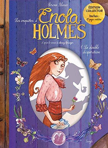Les enquêtes d'Enola Holmes, Tome 1 : Collector par Serena Blasco