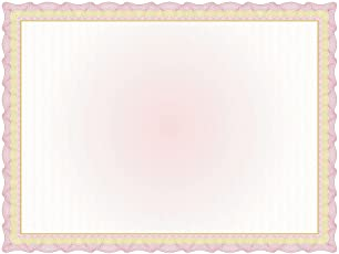 """Great Papers! Twisty Graph Red and Gold Foil Certificate, 8.5"""" x 11"""", 15 Count (2013308)"""