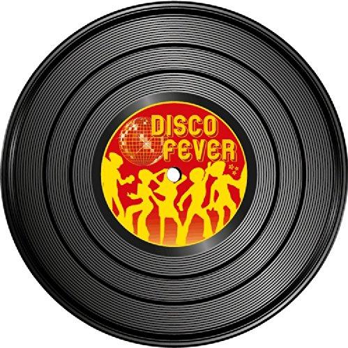 Disco Fever Vinyl Record Music Hochwertigen Auto-Autoaufkleber 12 x 12 cm