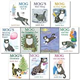 Mog the Cat 10 Books Collection Set Pack By Judith Kerr - (Mog the Forgetful Cat, Mog and Bunny, Mogs Chritmas, Mog in the Dark, Mog Amazing Birthday Carper, Mog and the V.E.T, Mog and the Granny, Mog and the Baby, Mog on the Fox Night, Mog Bad Things)