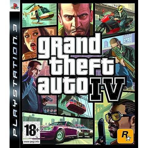 GTA IV Platinum Box (PS3) [Importación Inglesa]