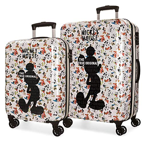 Disney True Original Set de Bagages, 69 cm, 108 liters, Multicolore (Multicolor)