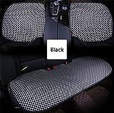 Autositzkissen, Bambuskohle Schutz Für Kinder-Und Baby-Matte, Dreiteilig,Black