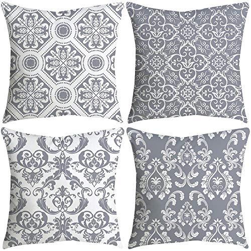VJGOAL impresión de Moda hogar Decorativo Suave sofá cómodo Cojín Cuadrado Funda...