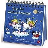 Yoga für Weihnachtsengel Adventsaufsteller