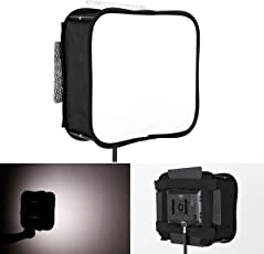 yiliwit SB300Softbox Diffusor für Yongnuo YN300Air YN300III yn-300II LED Videoleuchte Panel Faltbar Tragbare Weiche Filter