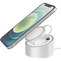 Stouchi Ständer Kompatibel mit Magsafe Ladegerät 326g Heavy-Duty Premium Metal Mag Safe Halterung Holder für iPhone 12…