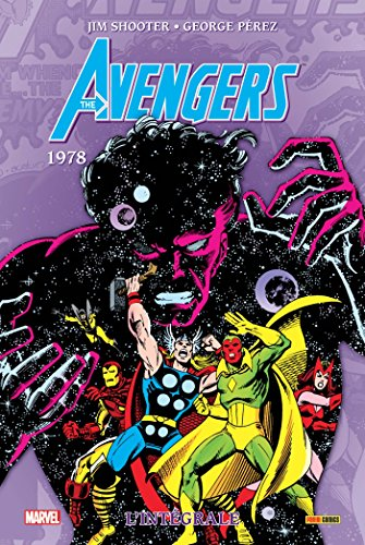 Avengers intégrale T15 1978 par David Michelinie, George Pérez, Jim Shooter, Sal Buscema, Bill Mantlo