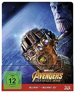 Avengers: Infinity War Steelbook - 3D + 2D [3D Blu-ray] [Limited Edition]