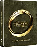 The Lord Of The Rings: The Fellowship Of The Ring - Extended Edition Steelbook [Blu-ray] [2001] [Region Free]