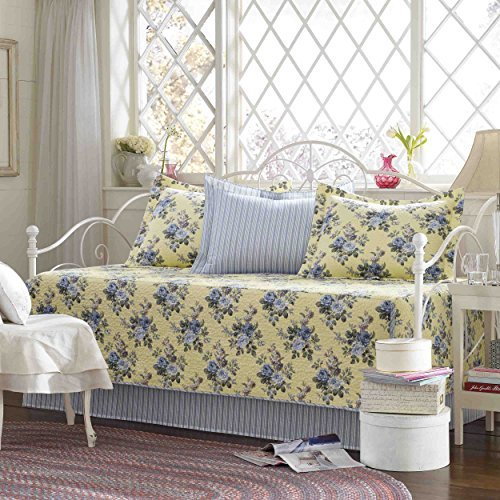 Laura Ashley 5-Piece Linley Daybed Cover Set by Laura Ashley