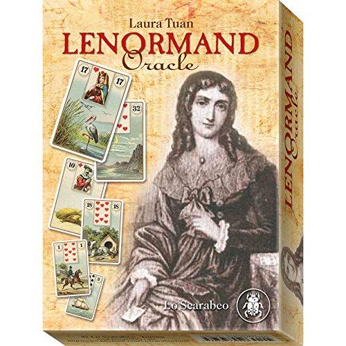Lenormand Oracle par Laura Tuan, 36 Cartes de Divination avec Instruction en Anglais et Boîte de Rangement