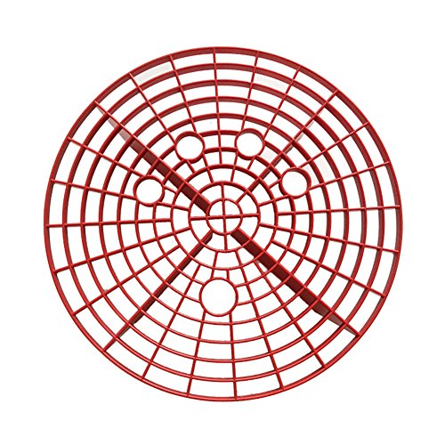 Autowasch-Körnschutz, 23,5/26 cm Autowascheimer Filter Grit Guards Anti Scratch Tool red(l) - Red Grit Guard