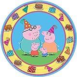 Tortenaufleger Tortenfoto Aufleger Foto Pig Peppa (8) rund ca. 20 cm *NEU*OVP*