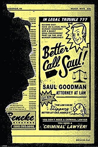 Breaking Bad Poster Pack Better Call Saul 61 x 91 cm (5) Pyramid International