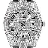 Rolex Datejust II 116300 - Juego Completo de Diamantes