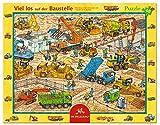 Spiegelburg Rahmenpuzzle Viel los auf der Baustelle (40 Teile)