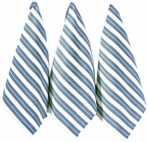 ritz-basketweave-cotton-kitchen-towels-federal-blue-3-pack