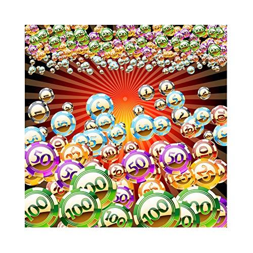 (YongFoto 3x3m Vinyl Foto Hintergrund Casino unter dem Motto Spielmarken Las Vegas Kasino Party Plakat Fotografie Hintergrund Partydekoration Video Fotostudio Hintergründe Fotoshooting)