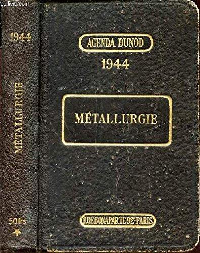 METALLURGIE / AGENDA DUNOD
