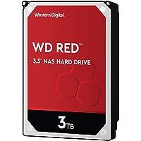 WD Red interne NAS-Festplatte 3 TB (3,5 Zoll, NAS Festplatte, 5400 U/min, SATA 6 Gbit/s, NASware-Technologie, 256 MB…