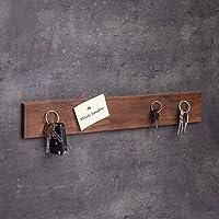 Schlüsselbrett magnetisch Holz   Handgefertigt in Bayern   Schlüsselhalter Magnet   Schlüsselkasten Schlüsselleiste Schlüsselboard Messerleiste   45cm Nuss-Holz