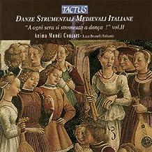 Italian Medieval Instrumental Dances 2