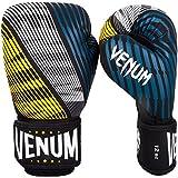 Venum Plasma Boxhandschuhe, Schwarz/Gelb, 10oz