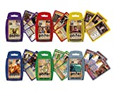 Winning Moves Trumpfspiele voller Magie - Top Trumps Harry Potter im Kartenspiel-Bundle (deutsch)