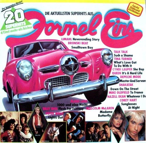 Formel Eins Charthits 1984 [LP] (Vinyl Record Schallplatte Various, 20 Tracks)