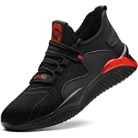 Nasogetch Safety Shoes Work Shoes Men Women Lightweight Safety Trainers with Steel Toe Caps