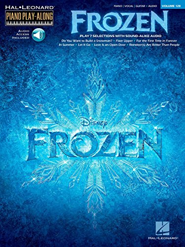 Piano Play-Along Volume 128: Frozen