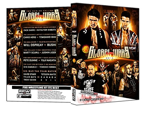 Official RPW / NJPW - Revolution Pro Wrestling & New Japan Pro Wrestling : Global Wars Night 1 2016 Event DVD