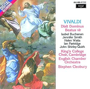Vivaldi: Dixit Dominus, Beatus Vir