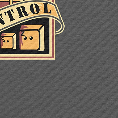 Planet Nerd Always in Control - Herren T-Shirt Grau